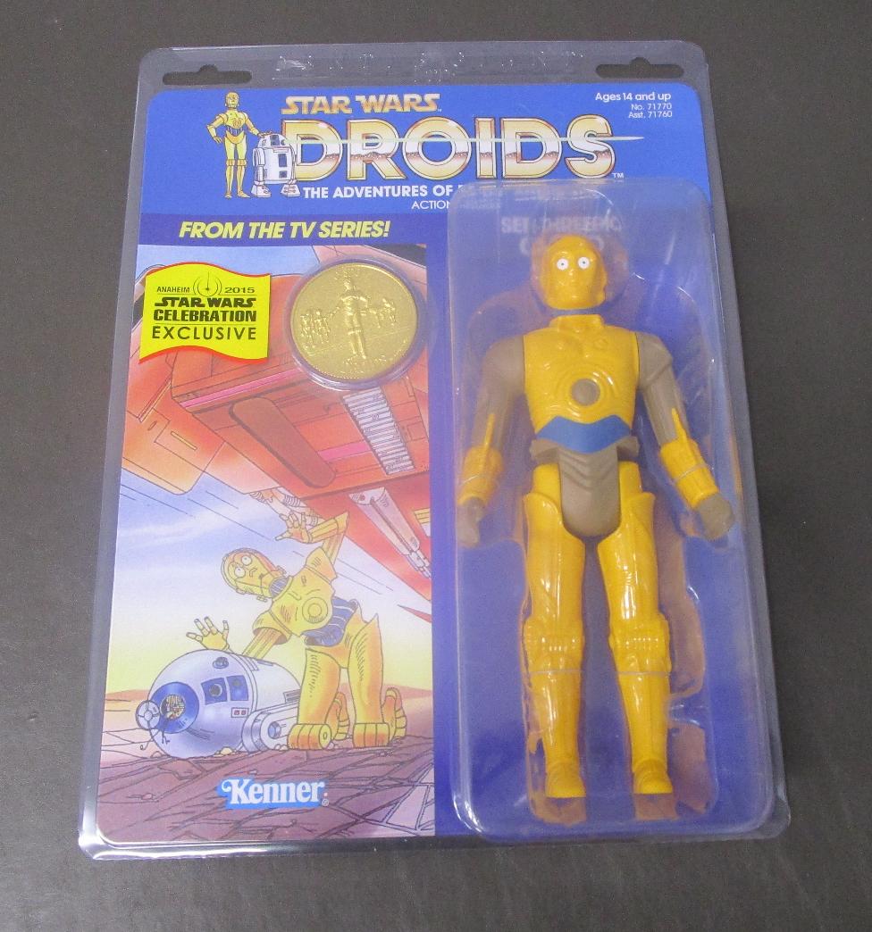 C3PO SeeThreepio Droids 12 estrella guerras Gentle Giant Jumbo nuovo Celebration EXCL