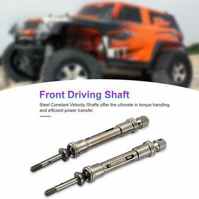 CVD Steel Drive Shaft,Car Drive Shaft Suitable for 1//10 Slash 4X4 SLA017 SLA018 Front and Rear Drive Shaft
