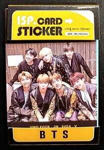K POP 15 pcs Photo Card Sticker Set