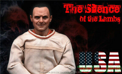 Hannibal Hopkins Figure Full Set ❶USA IN STOCK❶ 1//6 The Silence of The Lambs Dr