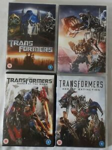 TRANSFORMERS DVD COLLECTION 1-4