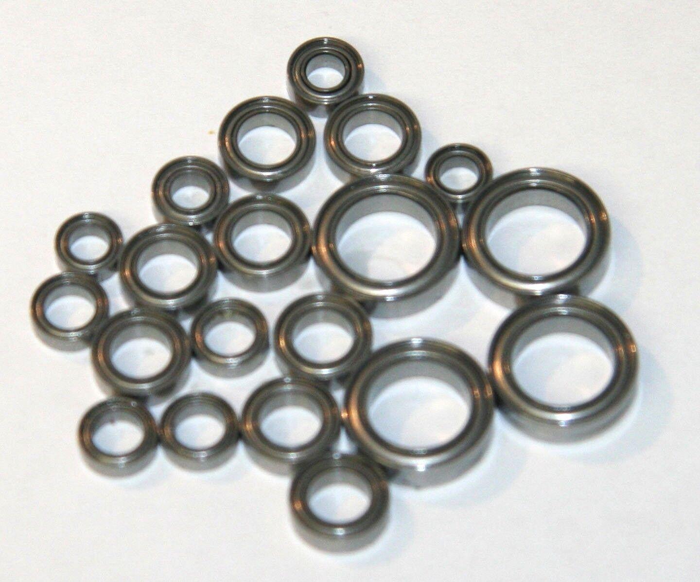 Stainless Steel Ceramic Bearings Kit for YOKOMO MR-4TC 1:10 BD7 Touring 17 pcs.