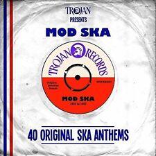 Trojan Presents: Mod Ska by Various Artists (CD, May-2015, 2 Discs, Sanctuary (USA))