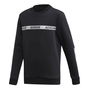 Adidas-Kids-Sweatshirt-Sports-ID-Running-Crew-Training-Gym-Boys-Lifestyle-FK4820