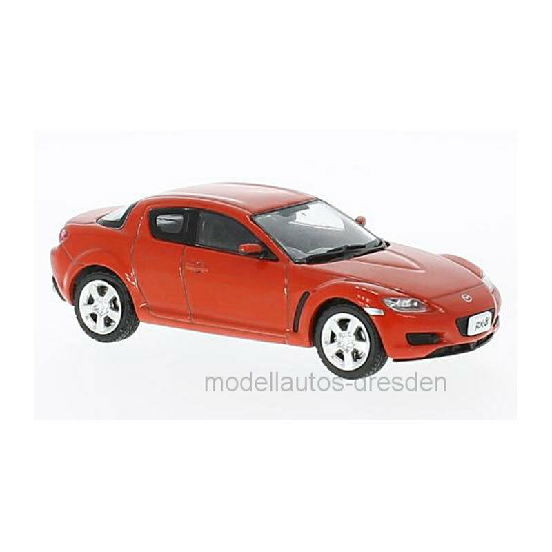 First  43 f43029 Mazda RX-8 Red Scale 1 43 MODEL CAR NEW  °