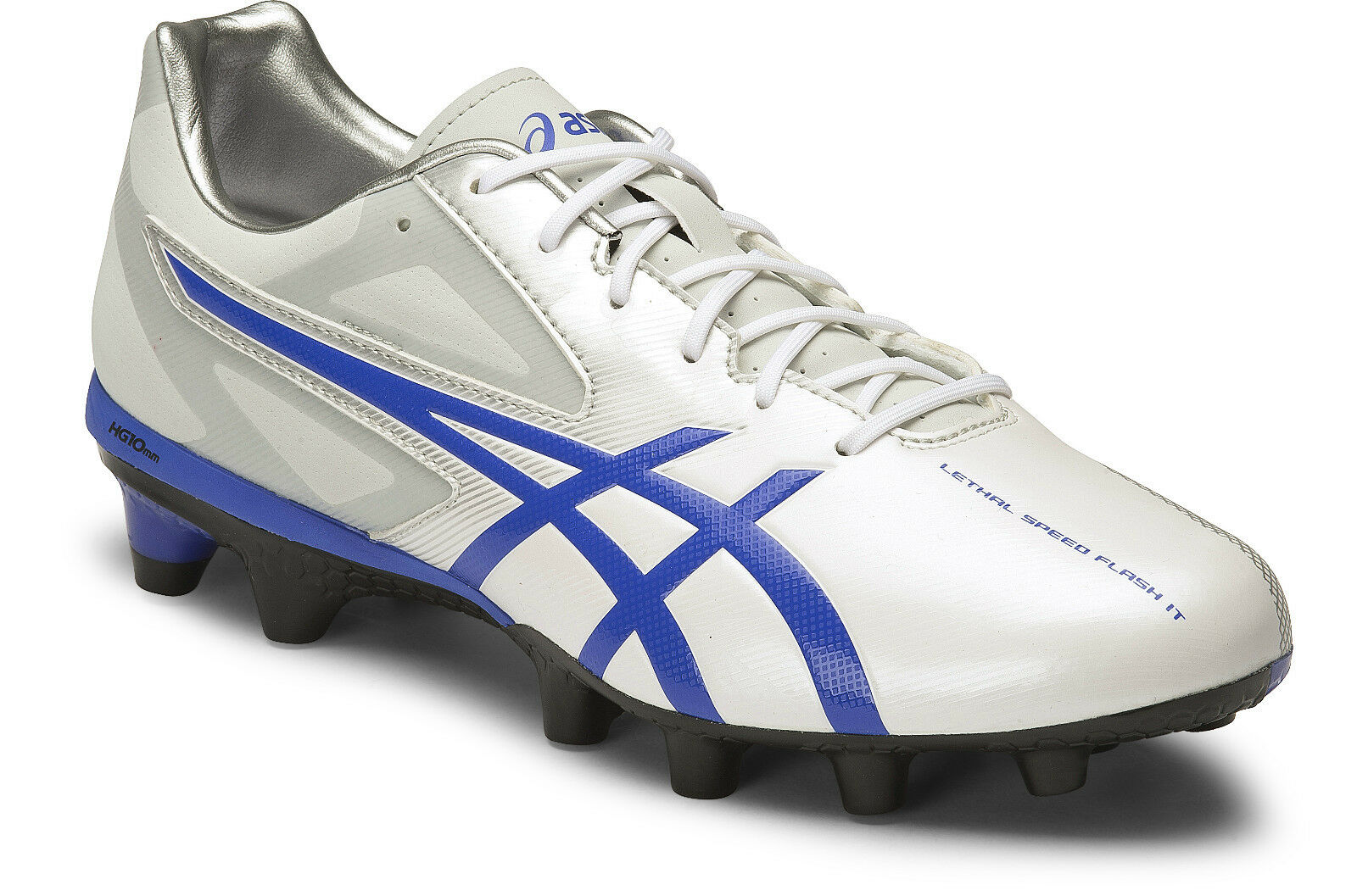 Asics Lethal Speed Flash IT Pour des hommes Football chaussures (0148) + Libre Aus Delivery