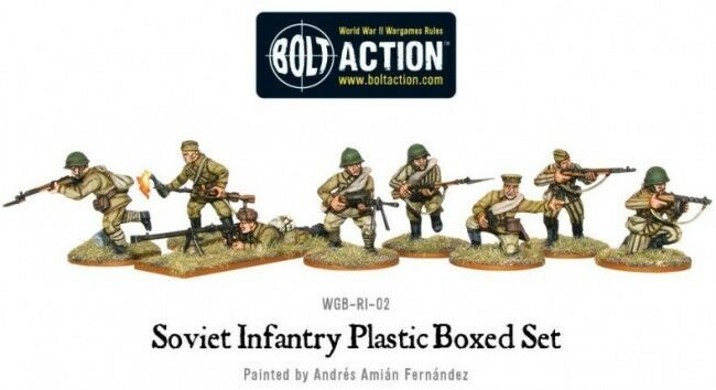 Warlord Warlord Warlord Games Soviet Infanterie 28mm Seconde Guerre Mondiale Ivan Union 4e9e92