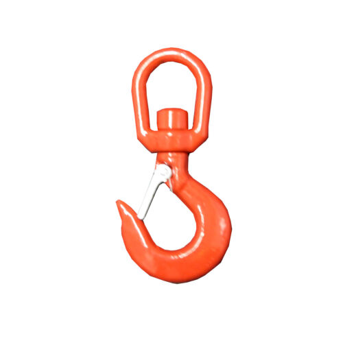 3 Ton ALLOY STEEL SWIVEL HOOKS with SAFETY CATCH lifting chain rope crane