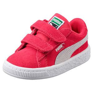 71e8b3855267e6 Das Bild wird geladen Puma-Suede-Classic-V-Inf-Kinder-Sneaker-Schuhe-
