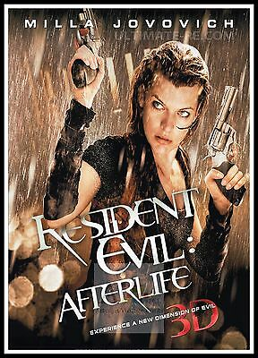 Resident Evil Afterlife 2010 Movie Posters Classic Films Ebay