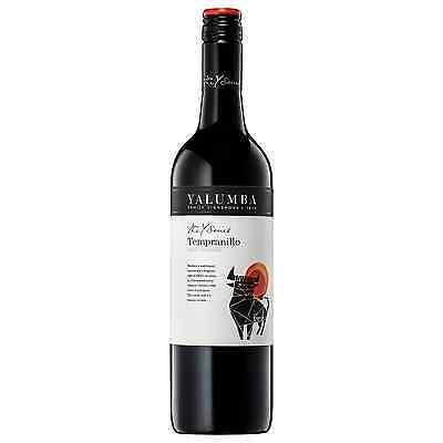 Yalumba Y Series Tempranillo 2014 case of 6 Dry Red Wine 750mL South Australia