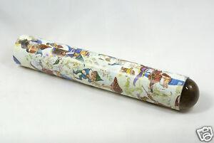 Oktaskop in Kartonhülse, Motiv Zwerge, ca. 15,5 cm Länge Umgebungs Kaleidoskop