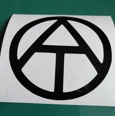 Funny//Car//Van//Camper//Bike Decal Sticker Vinyl Graphic Atheist logo
