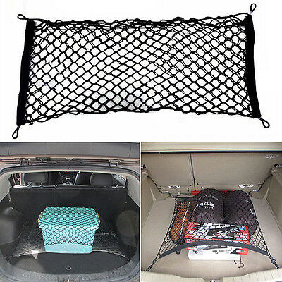 Universal Car Trunk Rear Cargo Organizer Storage Elastic Mesh Net Holder Cool