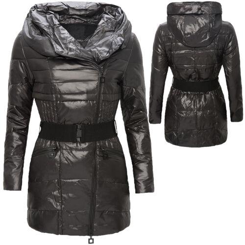 Nuevo 107 Forrado Capucha Chaqueta Con Acolchado D Plumón Winter De Mujer Abrigo nxn4Bz