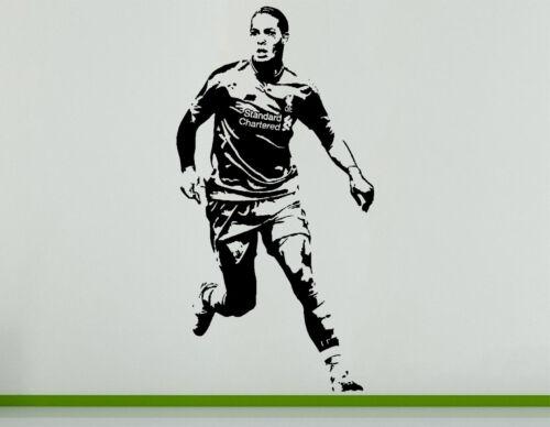 Виргил Ван Дейк голландская нидерландская футбол футболист наклейка настенное искусство наклейка