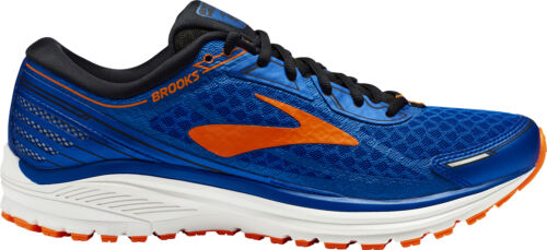 Brooks Aduro 5 Mens Running Shoes Cushioned Trainers Blue