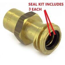 3 Seal Kits Female Coupler Propane Tank Forklift Buffer Rego 7141m Gasket O Ring