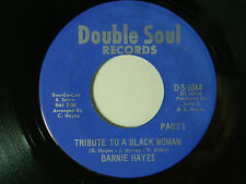Barnie Hayes 45 TRIBUTE TO A BLACK WOMAN part 1 / part 2 ~ Double Soul VG++