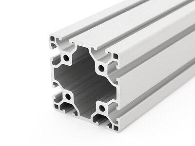 Aluminiumprofil 60x60L I-Typ Nut 6 - Zuschnitt 50-1190mm (27 EUR/m)