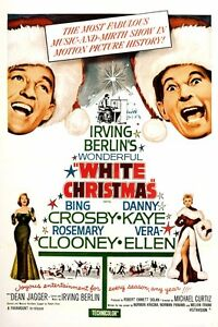 image is loading irving berlin 039 s white christmas movie poster - Bing Crosby Christmas Movies