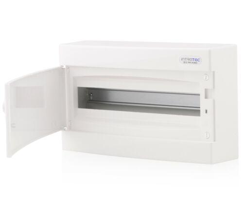 Boîte à fusibles tenue d/'apparat-Distributeur 1-Reihig 18te ip40 blanche porte
