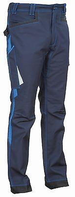 48202 Arbeitshose Montijo Kollektion Ergowear Von Cofra Navy Royal Neu Modern