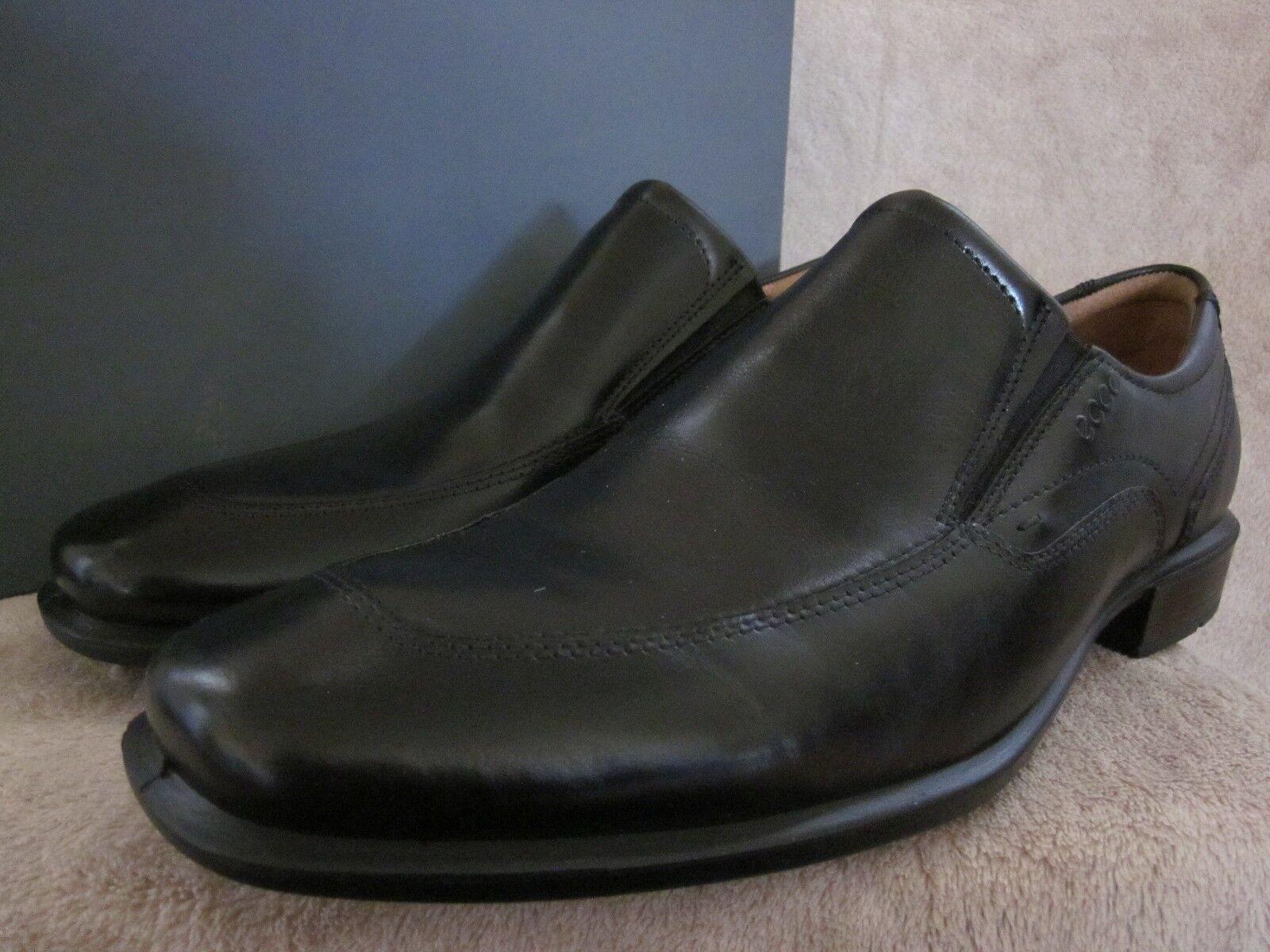 ECCO Mens Cairo Cairo Cairo Slip-on nero Leather Low Cut scarpe US 10 - 10.5 M EU 44 NWB 44052f