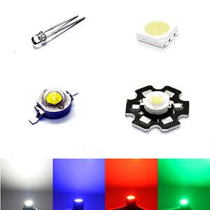 """Leuchtdioden 100 LEDs GELB 5mm wasserklar Typ /""""WTN-5-5000ge/"""" gelbe LED"""