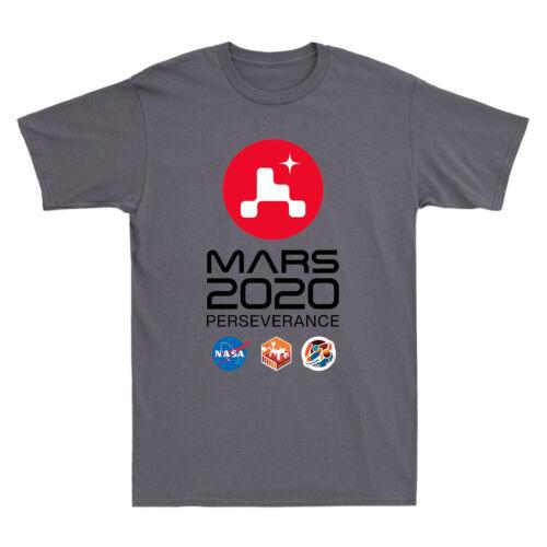 NASA SPACE Mars Rover Perseverance 2020 Graphic Men/'s Short Sleeve T-Shirt Tee