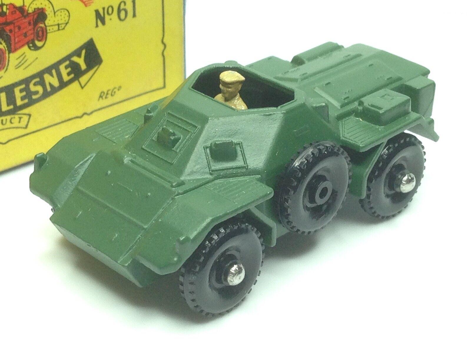 MATCHBOX 1 50 - 61A  FERRET SCOUT CAR