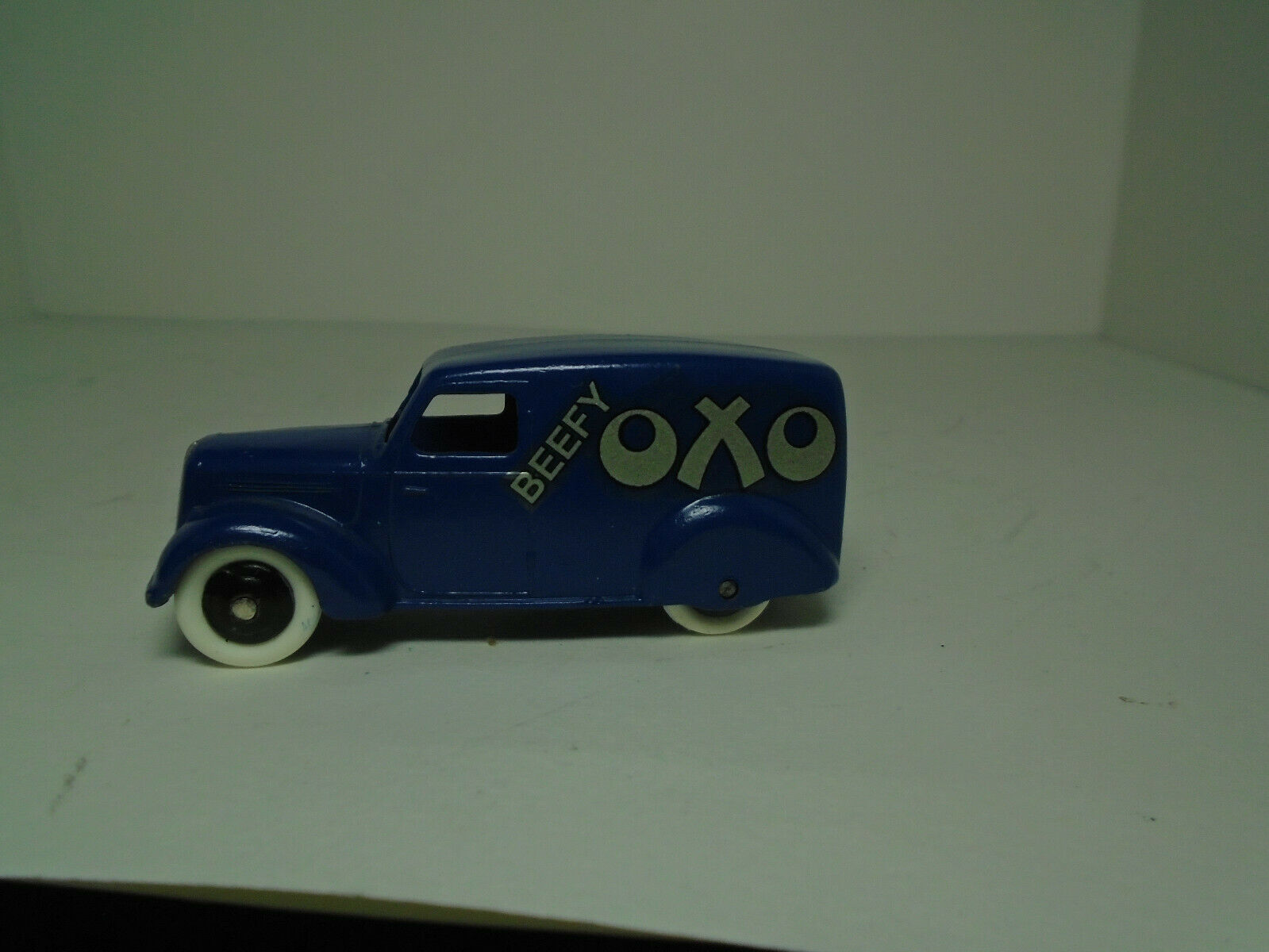 VINTAGE Meccano Dinky Toys  28 Series Delivery Van BEEFY OXO  RESTGoldt NEAR MINT