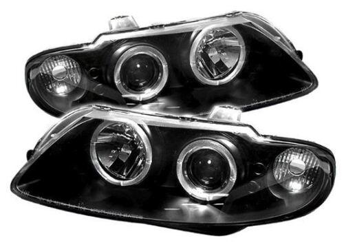 Spyder Projector Headlights LED Halo Black #5011749 for 2004-2006 Pontiac GTO