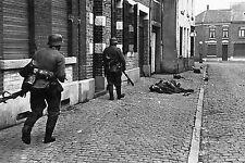 WW2 - Belgique - Combats de rues en mai 1940