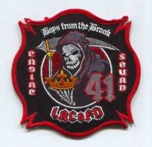 Los-Angeles-County-Fire-Department-Station-41-Engine-Squad-Patch-California-CA
