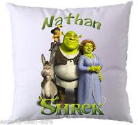 Coussin Shrek Personnalisé Avec Prénom De Votre Choix (v3)