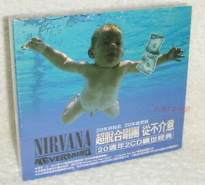 Image Is Loading Nirvana Nevermind Deluxe Edition Taiwan Ltd 2 CD