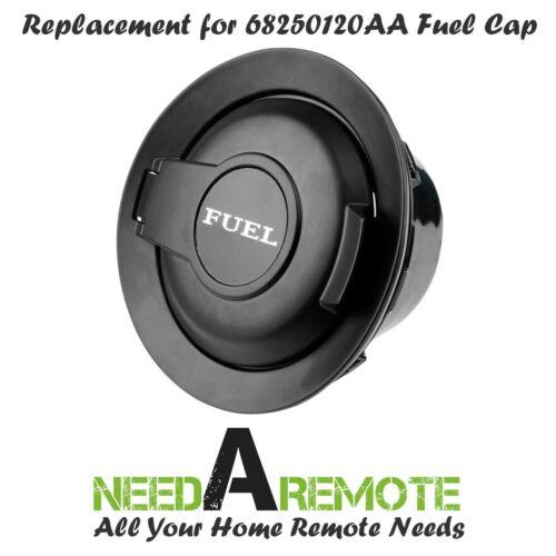 For 2008-2019 Dodge Challenger Matte Black Vapor Edition Fuel Filler Door Mopar