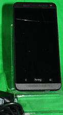HTC One (M7) - Ohne Simlock-  Smartphone Schwarz *riss-flaw* #ENGLISH#