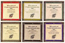 Lot of 6 RARE Wilhelm Furtwangler Berliner Philharmoniker CDs Melodiya label NEW