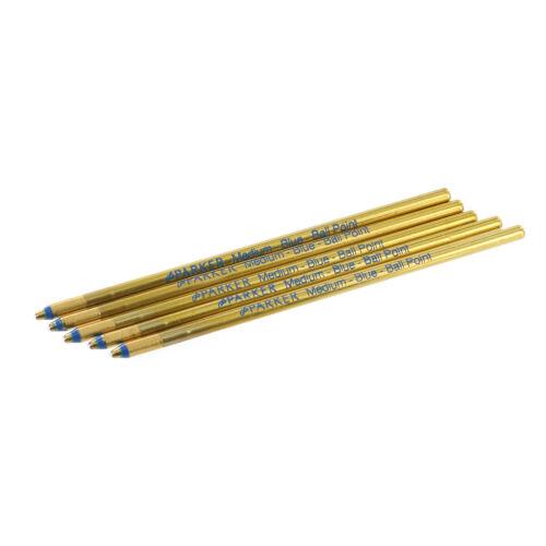 Pack of 50 Parker D1 Mini Multi-Functional Pen Refills Medium Point Blue Ink