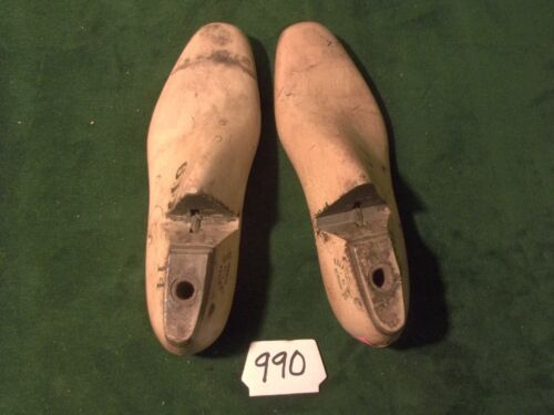 VINTAGE 1945 PAIR Size 6 D #14 Krentliner Bros Industrial Shoe Factory Last #990