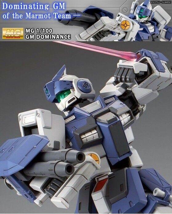 Bandai Premium Gundam Mg 1 100 GM dominación Kit plástico modelo