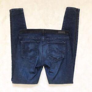AG-Adriano-Goldschmied-Womens-Size-27-The-Jackson-Contour-Tuxedo-Skinny-Jeans