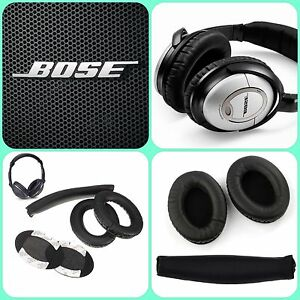 Replacement-Cushions-Ear-Pads-Headband-for-BOSE-QuietComfort-QC15-QC2-Headphones