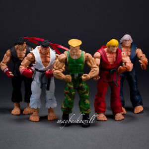 "NECA Street Fighter IV CAPCOM CLASSIC Ken Ryu 7/"" Action Figure Toy Gift XMAS"