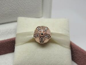 0eb055747 New w/Box Pandora ROSE Dazzling Daisies Charm Clip 781493CZ READ How ...