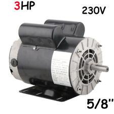 3hp 1phase Electric Motor 56 Frame Shaft Duty Motor For Air Compressor 58shaft
