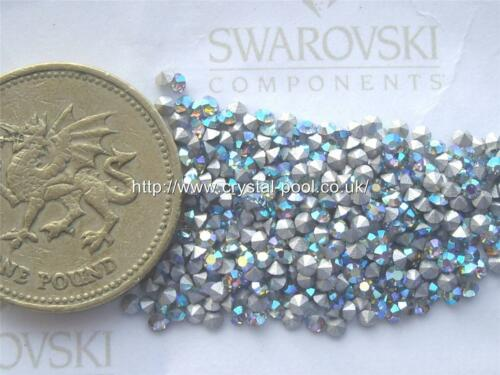 14pp Crystal AB silver-foiled #1100 chatons 48 x Swarovski 6ss
