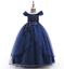 Kids-Flower-Girl-Princess-Dress-for-Girls-Party-Wedding-Bridesmaid-Gown-ZG8 thumbnail 16